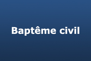 bapteme civil