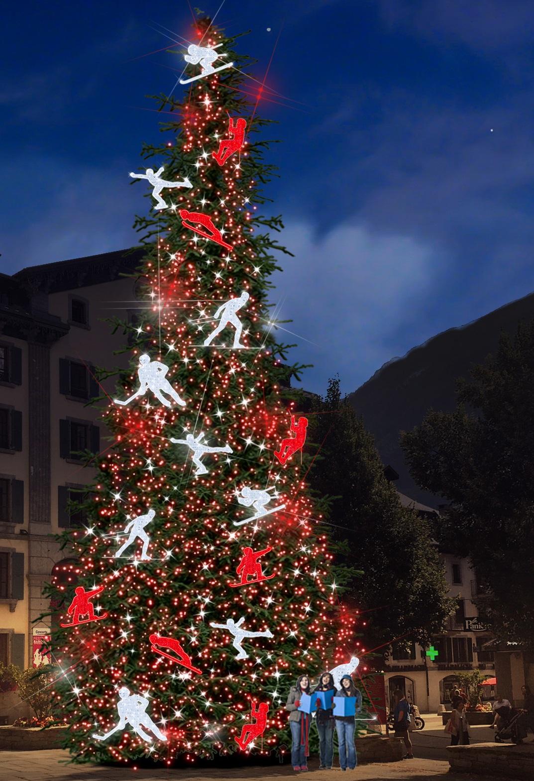 Sapin De Noel Decoration Traditionnelle nouvelles illuminations de noel a chamonix et traditionnelle